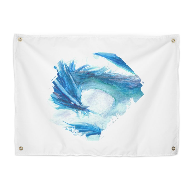 Colossal of the Blue Mists Home Tapestry by mirrortail's Shop