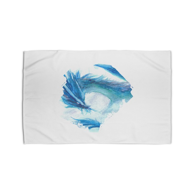 Colossal of the Blue Mists Home Rug by mirrortail's Shop