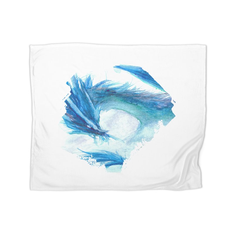 Colossal of the Blue Mists Home Blanket by mirrortail's Shop