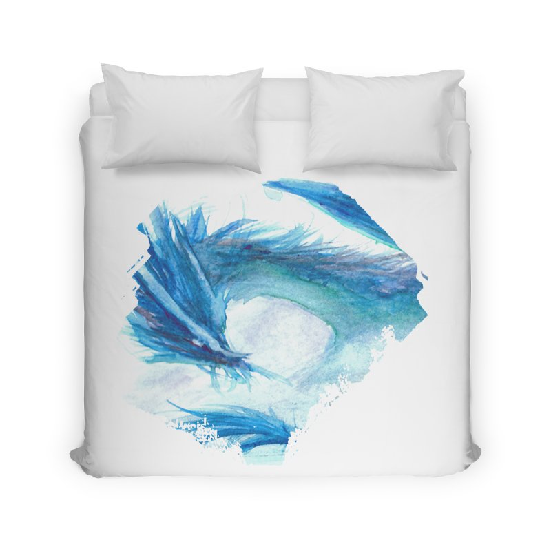 Colossal of the Blue Mists Home Duvet by mirrortail's Shop