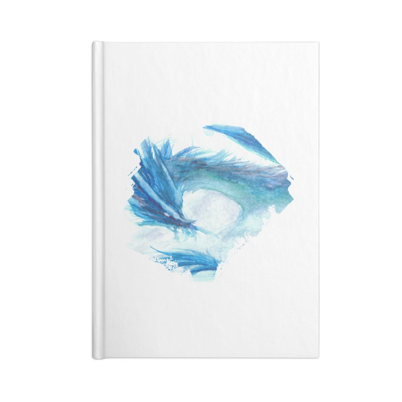 Colossal of the Blue Mists Accessories Blank Journal Notebook by mirrortail's Shop