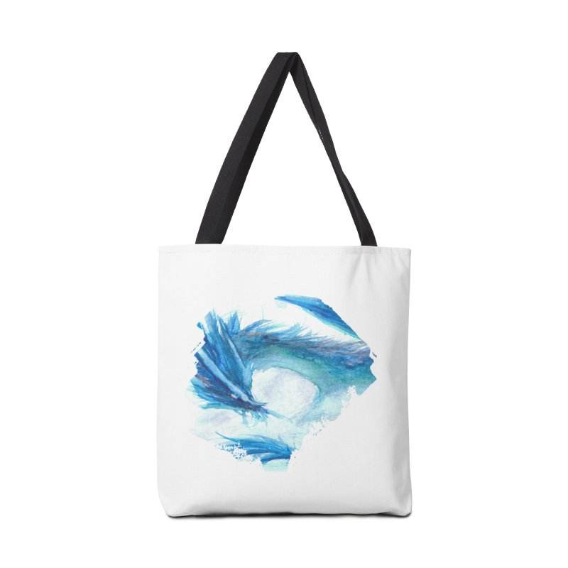 Colossal of the Blue Mists Accessories Bag by mirrortail's Shop