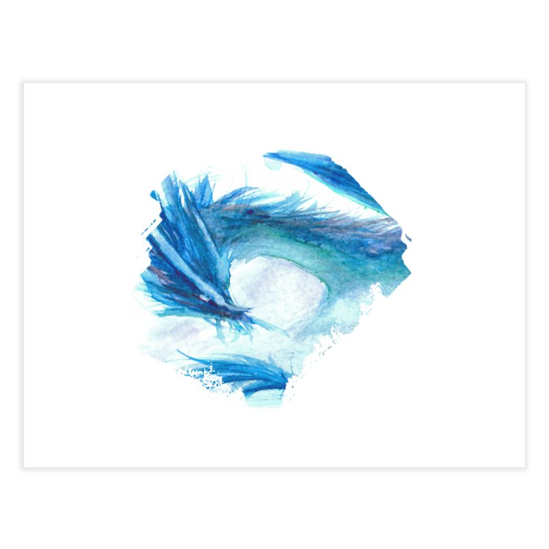 Colossal of the Blue Mists Home Fine Art Print by mirrortail's Shop