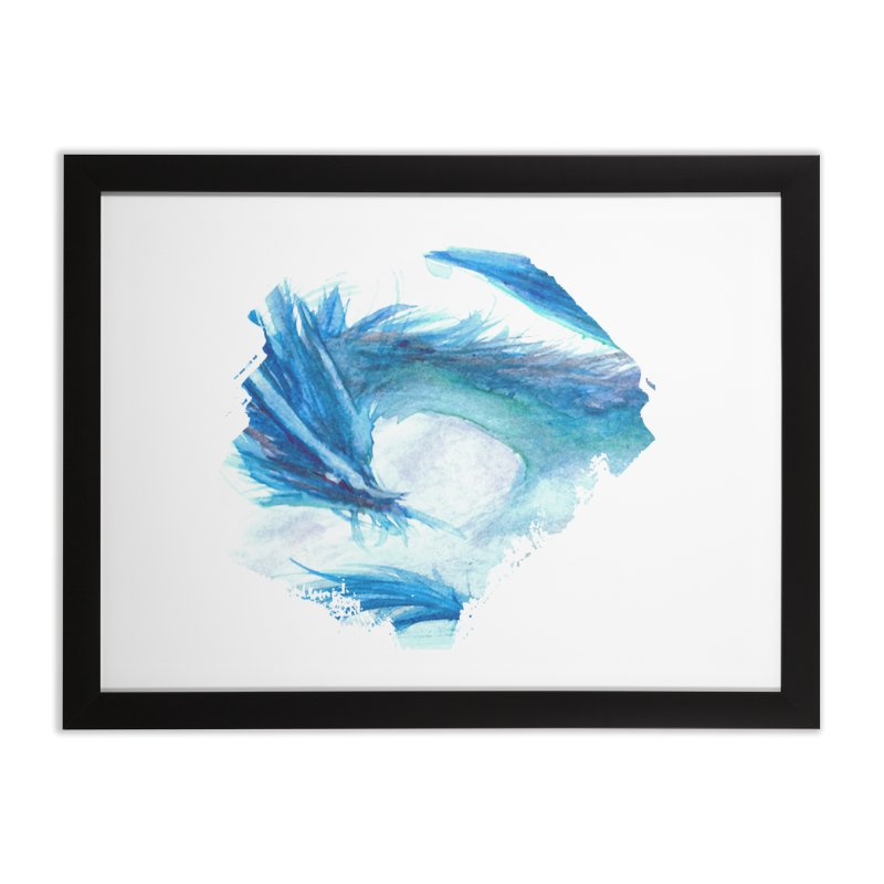 Colossal of the Blue Mists Home Framed Fine Art Print by mirrortail's Shop