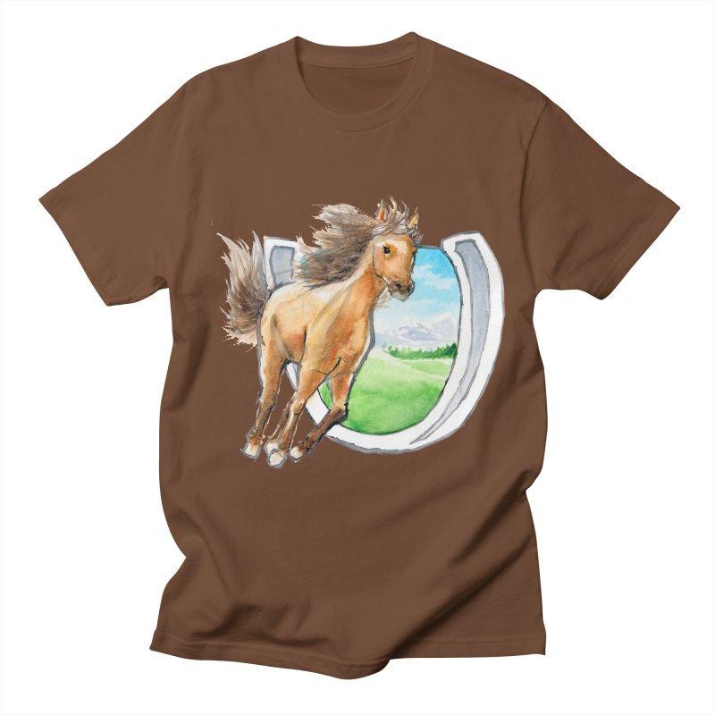 Buckskin Horseshoe Women's  by mirrortail's Shop