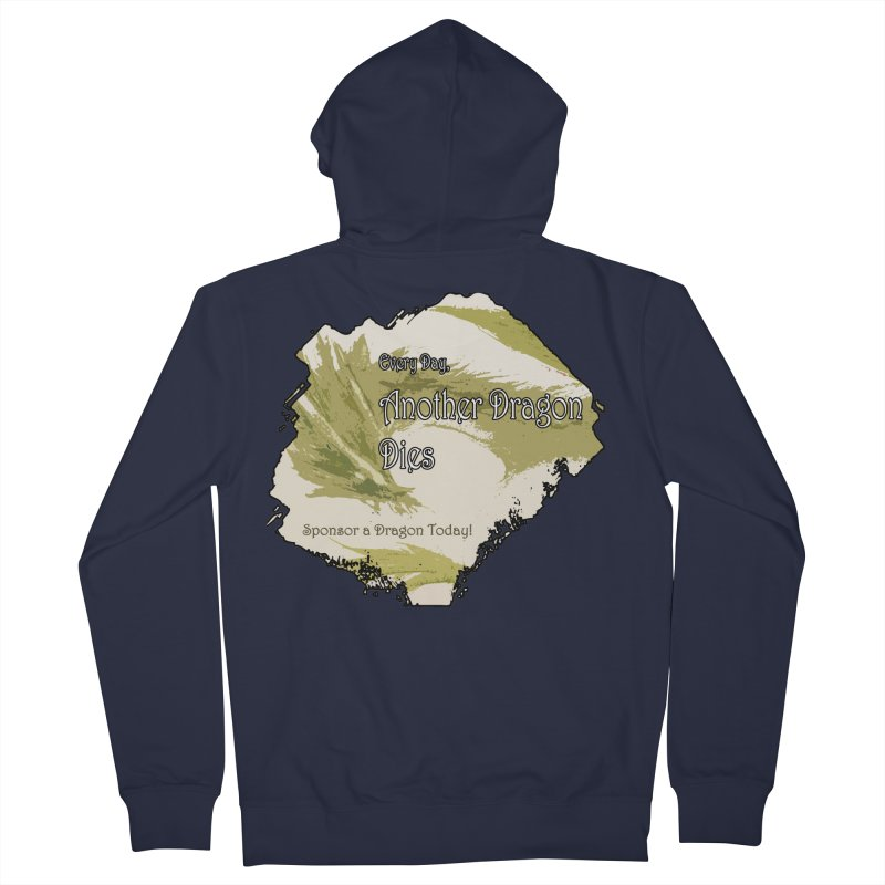 Sponsor a Dragon Women's French Terry Zip-Up Hoody by mirrortail's Shop