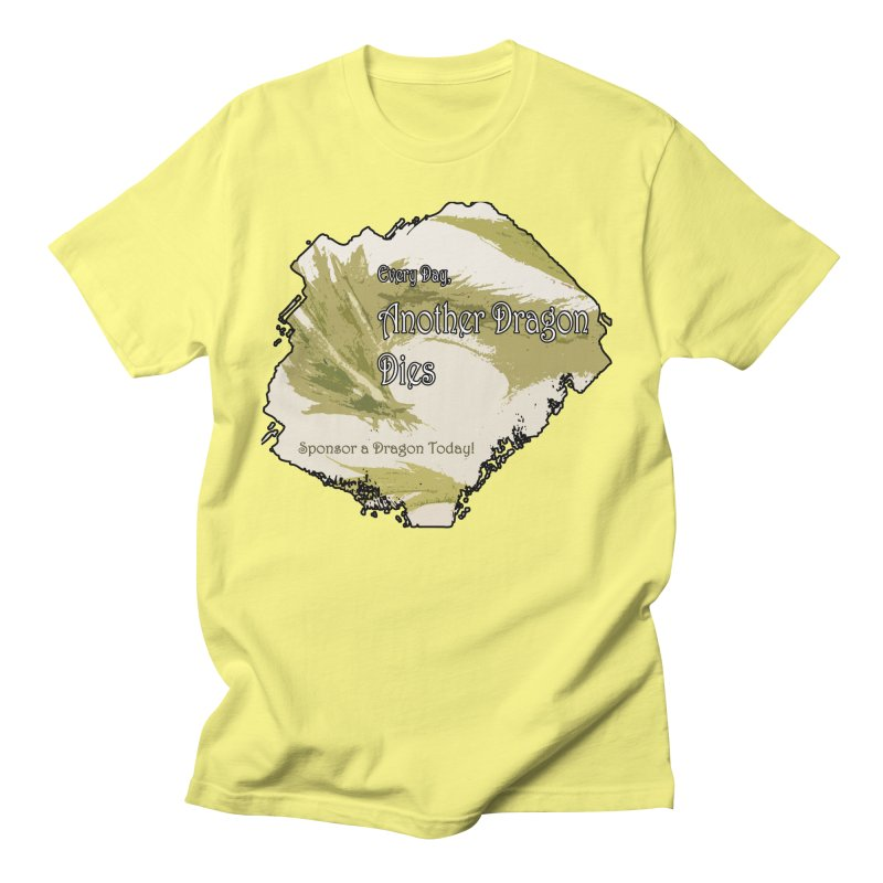 Sponsor a Dragon Men's Regular T-Shirt by mirrortail's Shop