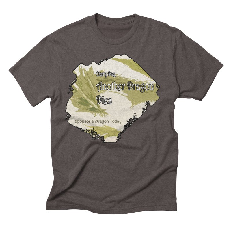Sponsor a Dragon Men's Triblend T-Shirt by mirrortail's Shop