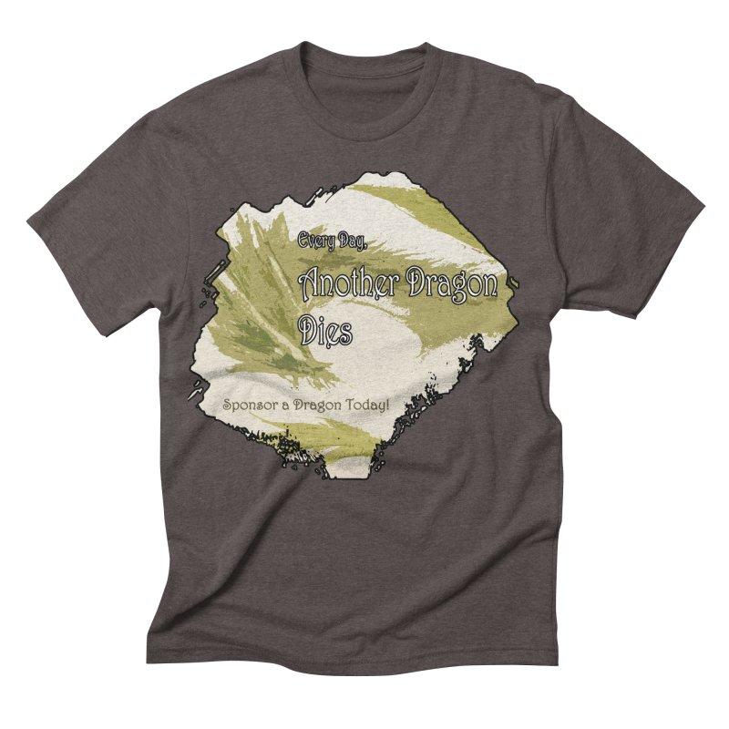 Sponsor a Dragon Men's Triblend T-shirt by mirrortail's Shop