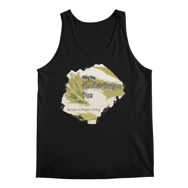 Sponsor a Dragon Men's Regular Tank by mirrortail's Shop