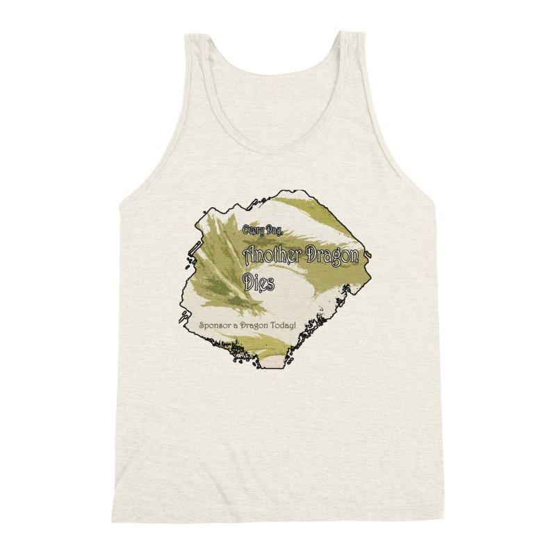 Sponsor a Dragon Men's Triblend Tank by mirrortail's Shop