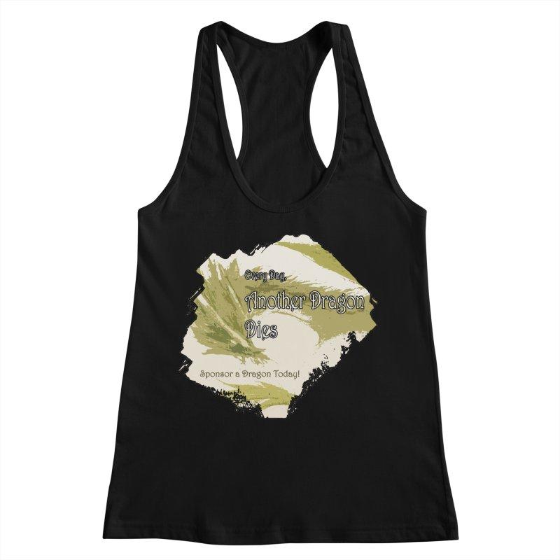 Sponsor a Dragon Women's Racerback Tank by mirrortail's Shop