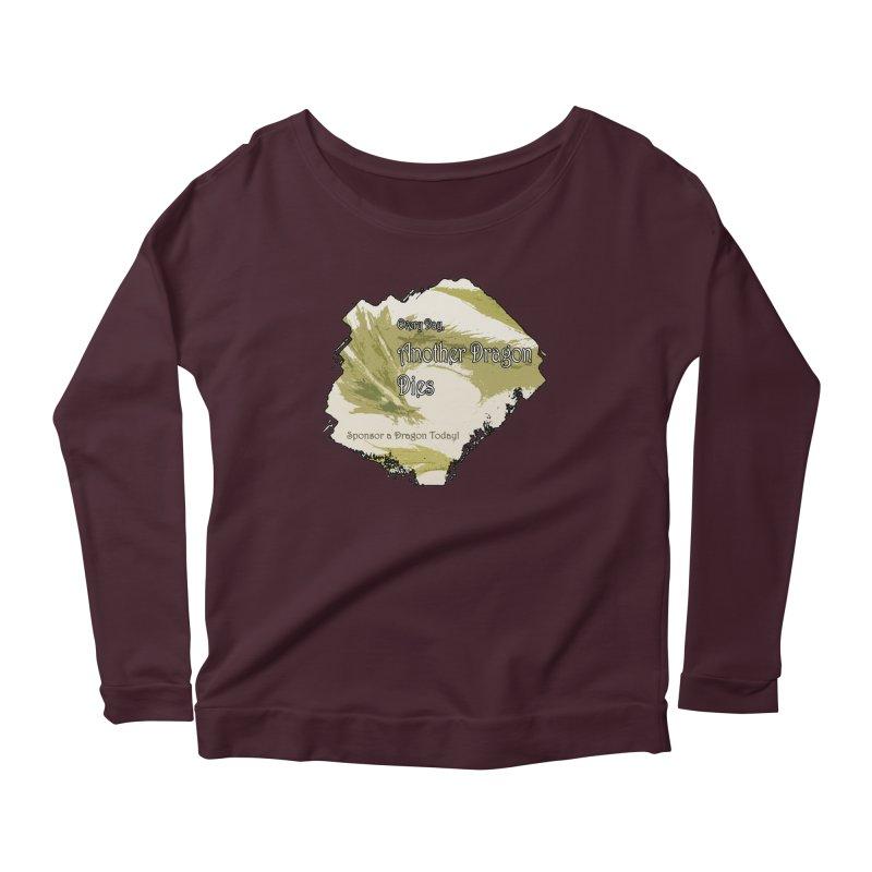 Sponsor a Dragon Women's Scoop Neck Longsleeve T-Shirt by mirrortail's Shop