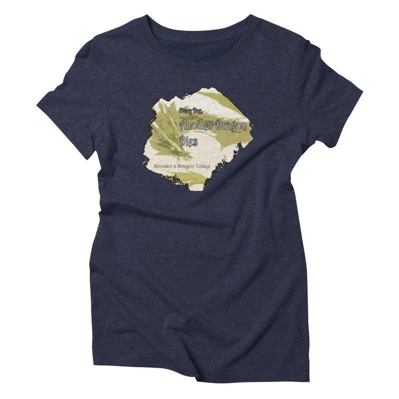 Sponsor a Dragon Women's Triblend T-shirt by mirrortail's Shop