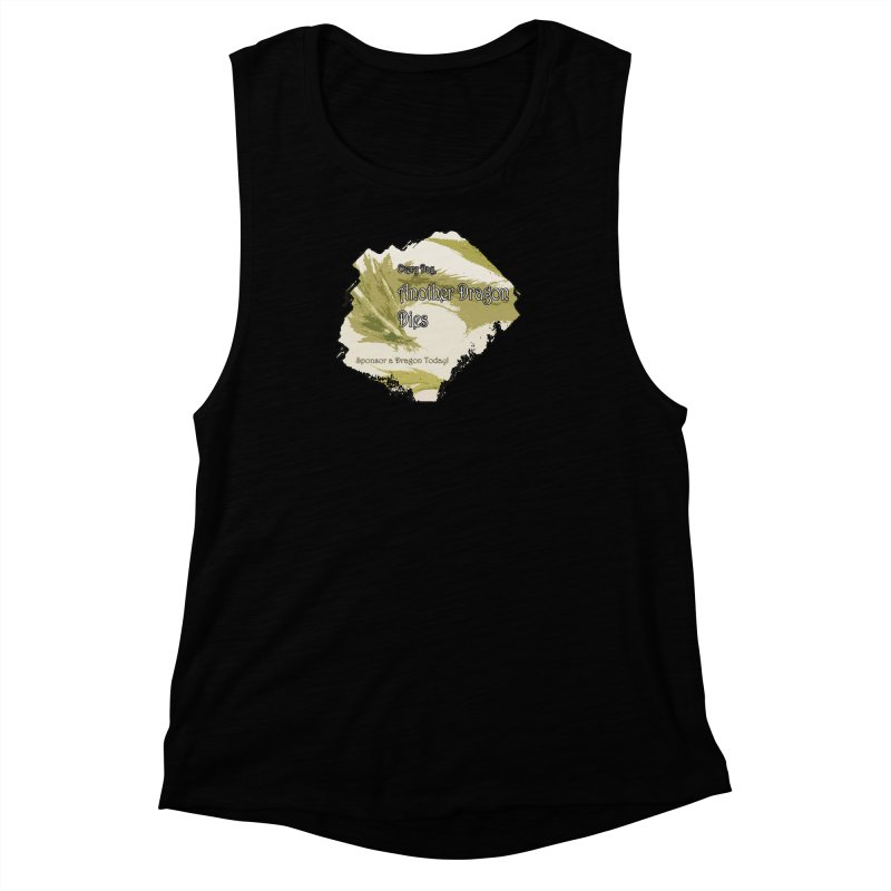 Sponsor a Dragon Women's Muscle Tank by mirrortail's Shop