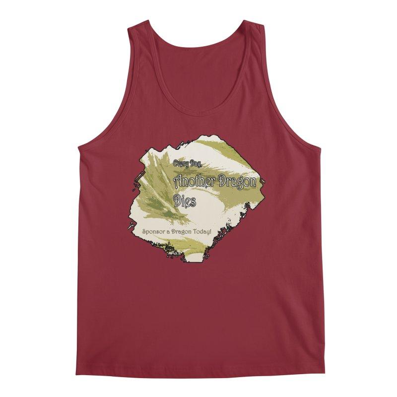 Sponsor a Dragon Men's Regular Tank by mirrortail's Shop
