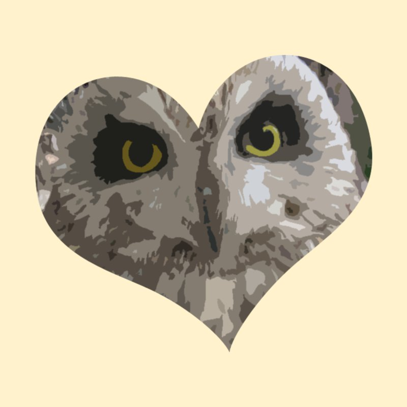 Owl Heart Filter by mirrortail's Shop