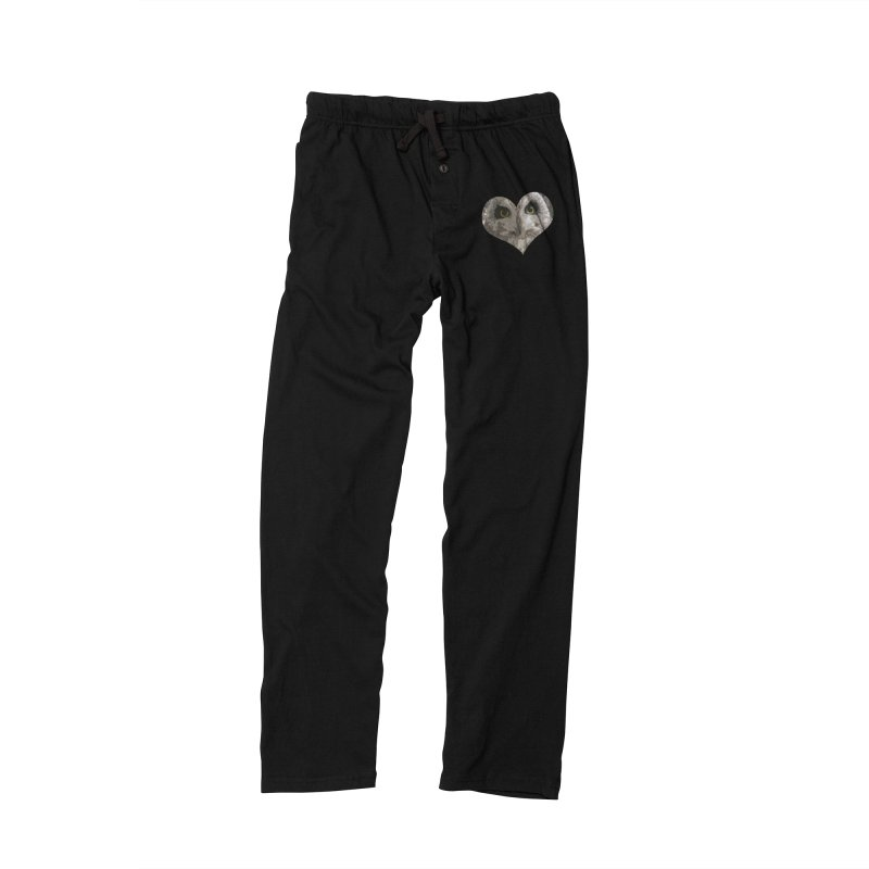 Owl Heart Filter Men's Lounge Pants by mirrortail's Shop
