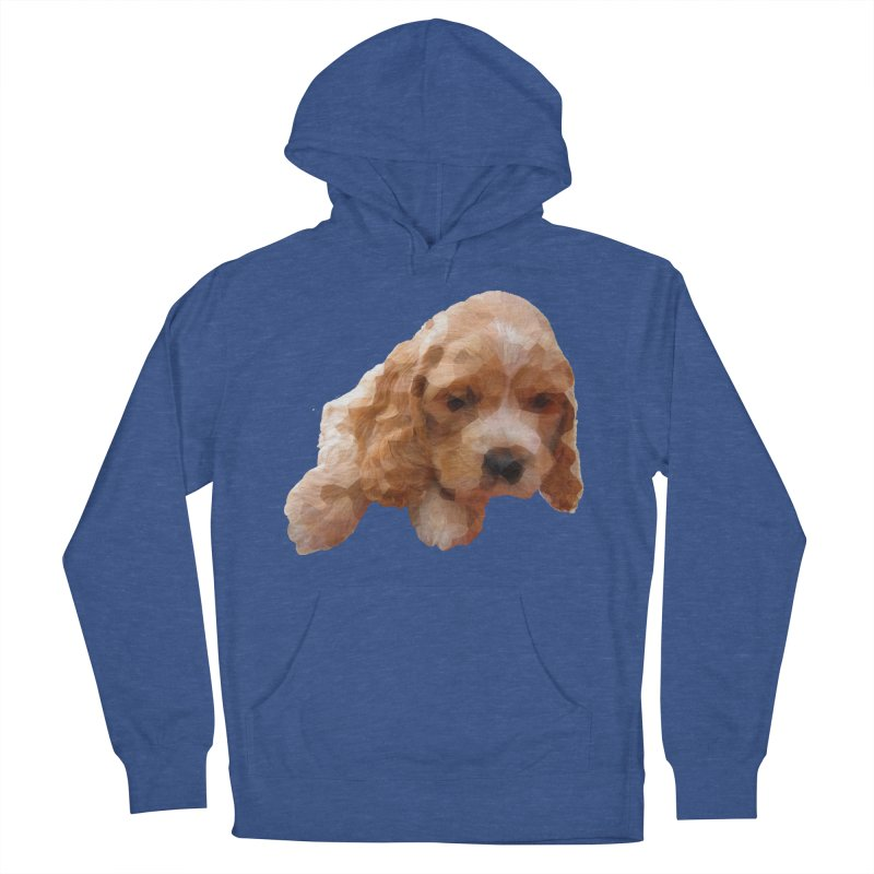 Cocker Spaniel Poly Women's French Terry Pullover Hoody by mirrortail's Shop