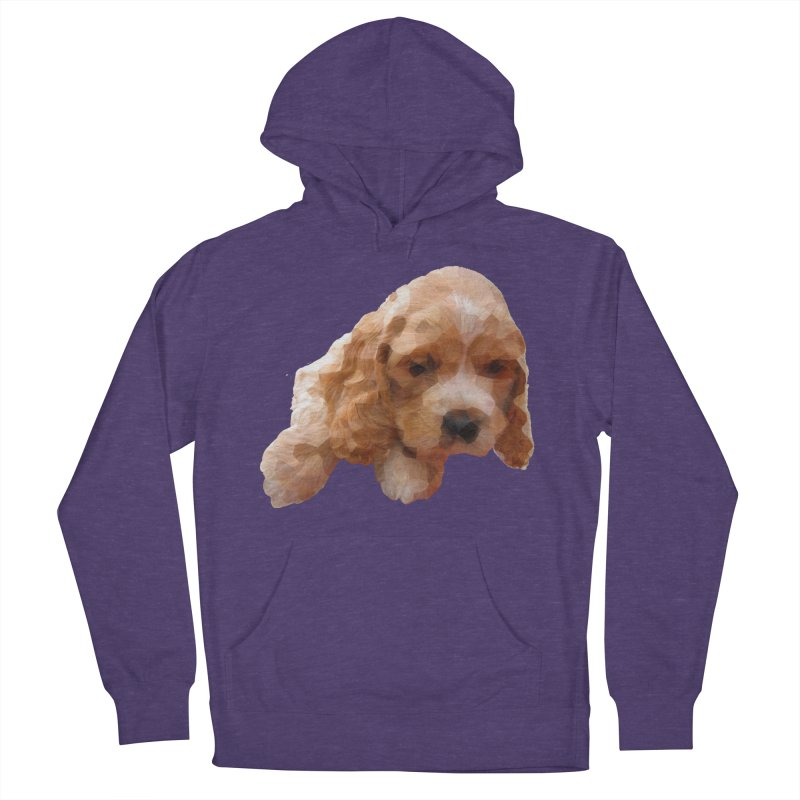 Cocker Spaniel Poly Women's Pullover Hoody by mirrortail's Shop