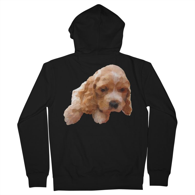 Cocker Spaniel Poly Women's Zip-Up Hoody by mirrortail's Shop