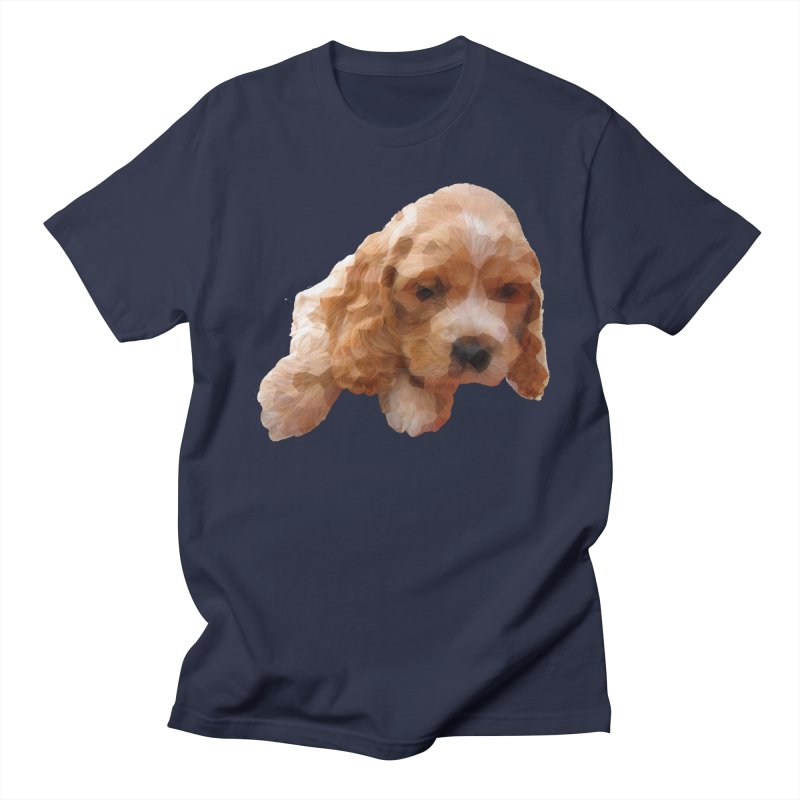 Cocker Spaniel Poly Women's Regular Unisex T-Shirt by mirrortail's Shop