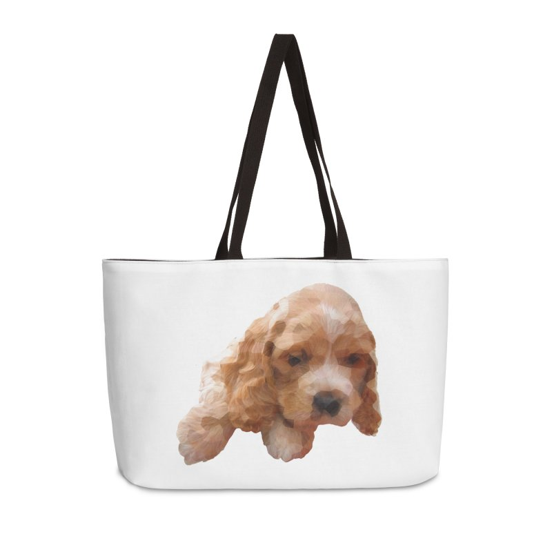 Cocker Spaniel Poly Accessories Weekender Bag Bag by mirrortail's Shop