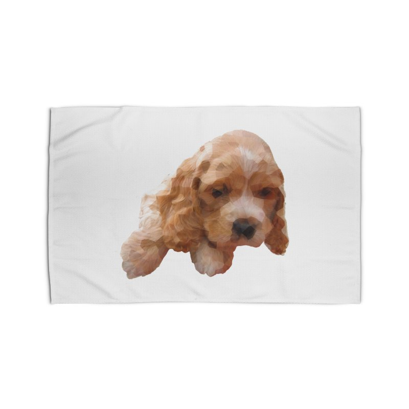 Cocker Spaniel Poly Home Rug by mirrortail's Shop