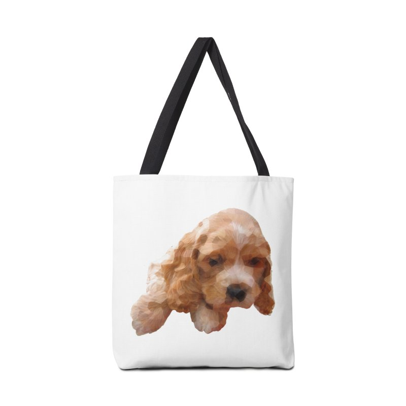 Cocker Spaniel Poly Accessories Bag by mirrortail's Shop