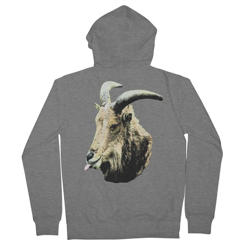 Sumi Goat Women's French Terry Zip-Up Hoody by mirrortail's Shop