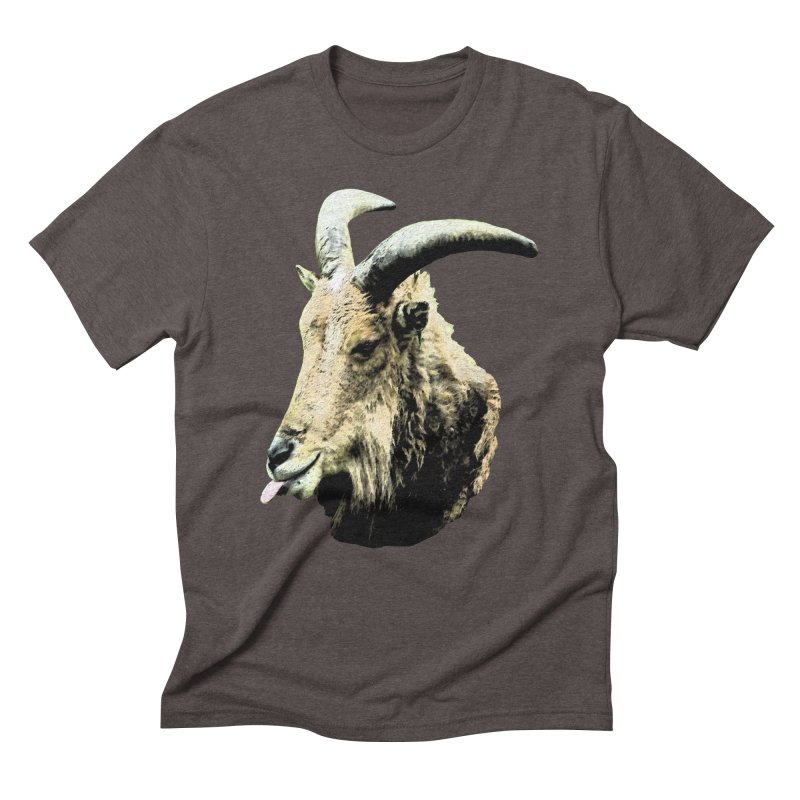 Sumi Goat Men's Triblend T-Shirt by mirrortail's Shop