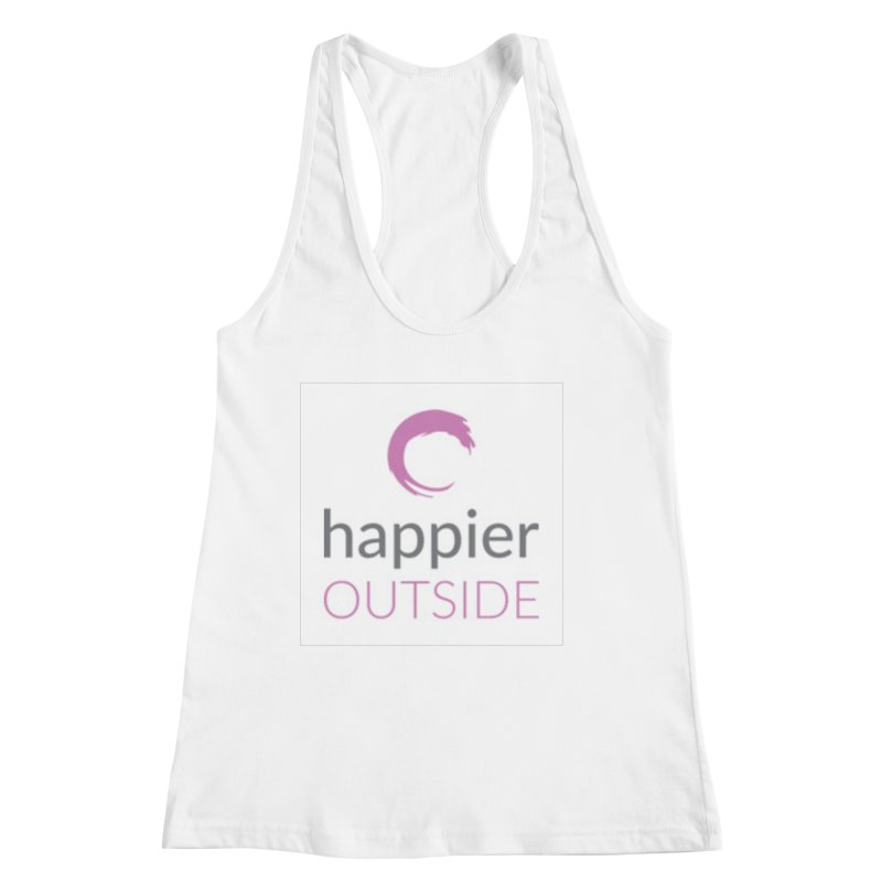 2018 Happier Outside Women's Racerback Tank by Mish Sommers and Happier Outside