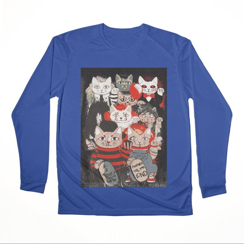 Horror Maneki Neko Vintage Gang Halloween Party 2019 T-Shirt Women's Performance Unisex Longsleeve T-Shirt by miskel's Shop