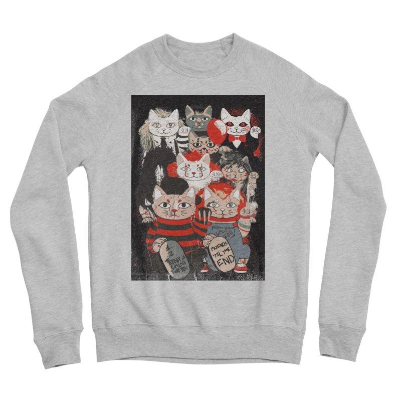 Horror Maneki Neko Vintage Gang Halloween Party 2019 T-Shirt Men's Sponge Fleece Sweatshirt by miskel's Shop