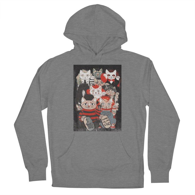 Horror Maneki Neko Vintage Gang Halloween Party 2019 T-Shirt Men's Pullover Hoody by miskel's Shop