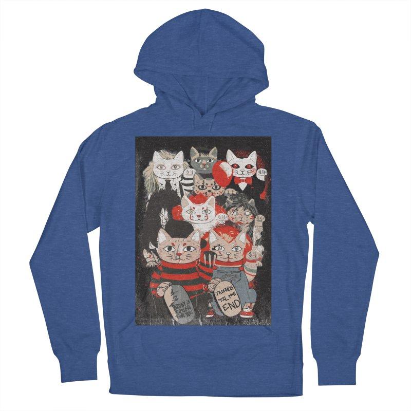 Horror Maneki Neko Vintage Gang Halloween Party 2019 T-Shirt Men's French Terry Pullover Hoody by miskel's Shop