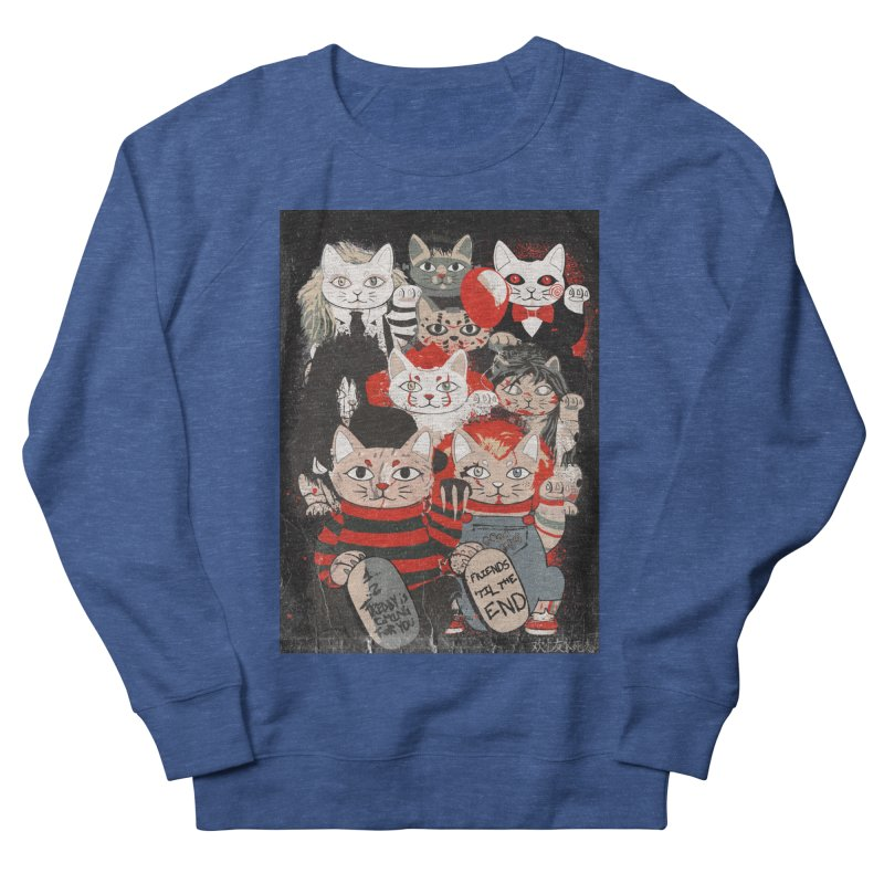 Horror Maneki Neko Vintage Gang Halloween Party 2019 T-Shirt Men's Sweatshirt by miskel's Shop