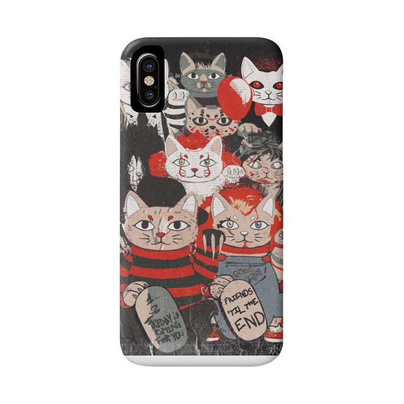Horror Maneki Neko Vintage Gang Halloween Party 2019 T-Shirt Accessories Phone Case by miskel's Shop