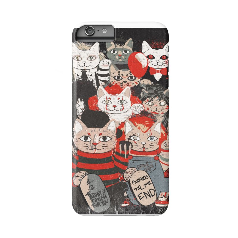Horror Maneki Neko Vintage Gang Halloween Party 2019 T-Shirt Accessories Phone Case by miskel's Shop