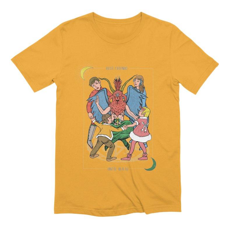 Best Friends Until Death Men's Extra Soft T-Shirt by miskel's Shop