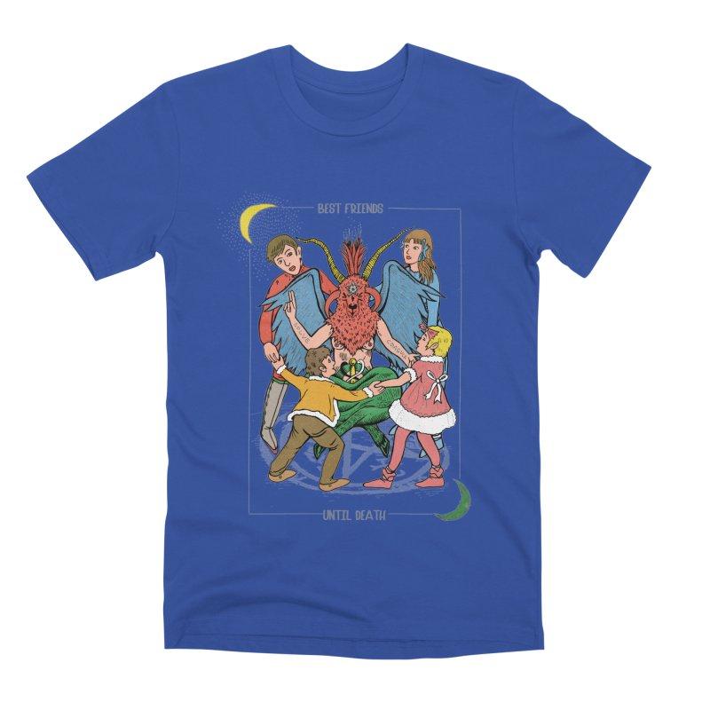Best Friends Until Death Men's Premium T-Shirt by miskel's Shop
