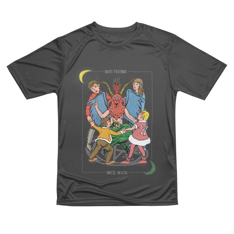 Best Friends Until Death Men's Performance T-Shirt by miskel's Shop