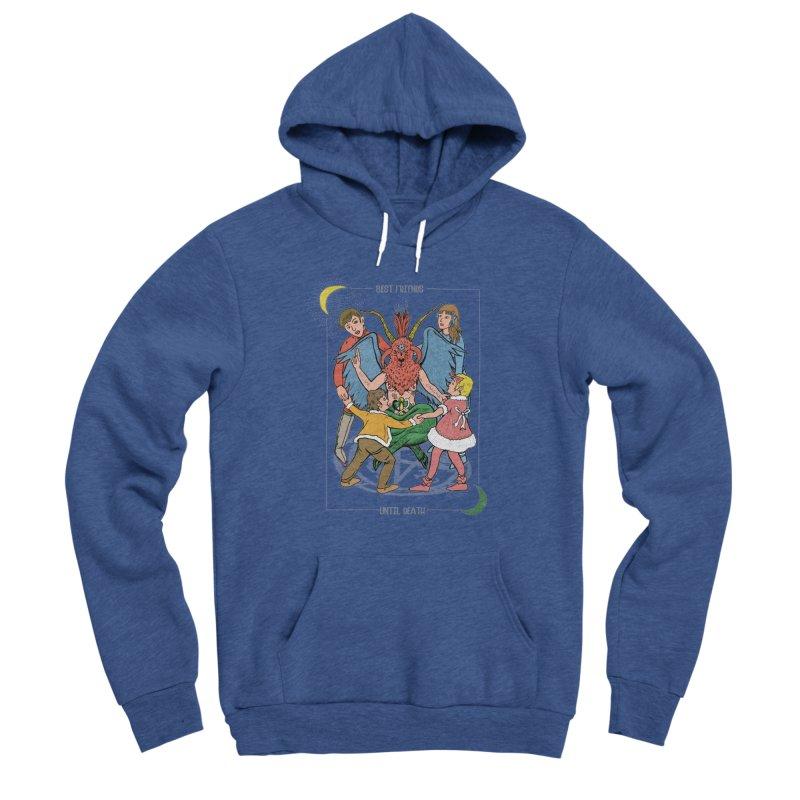 Best Friends Until Death Men's Sponge Fleece Pullover Hoody by miskel's Shop