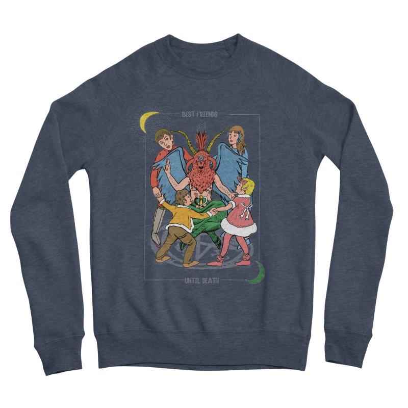Best Friends Until Death Women's Sponge Fleece Sweatshirt by miskel's Shop