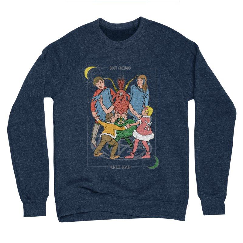 Best Friends Until Death Men's Sponge Fleece Sweatshirt by miskel's Shop