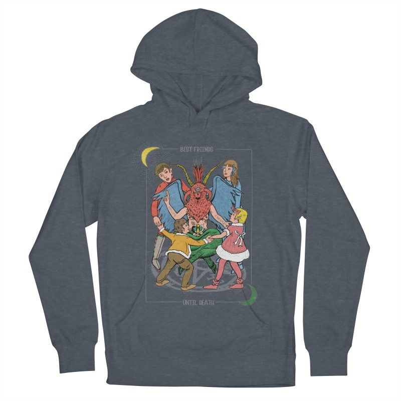 Best Friends Until Death Men's French Terry Pullover Hoody by miskel's Shop