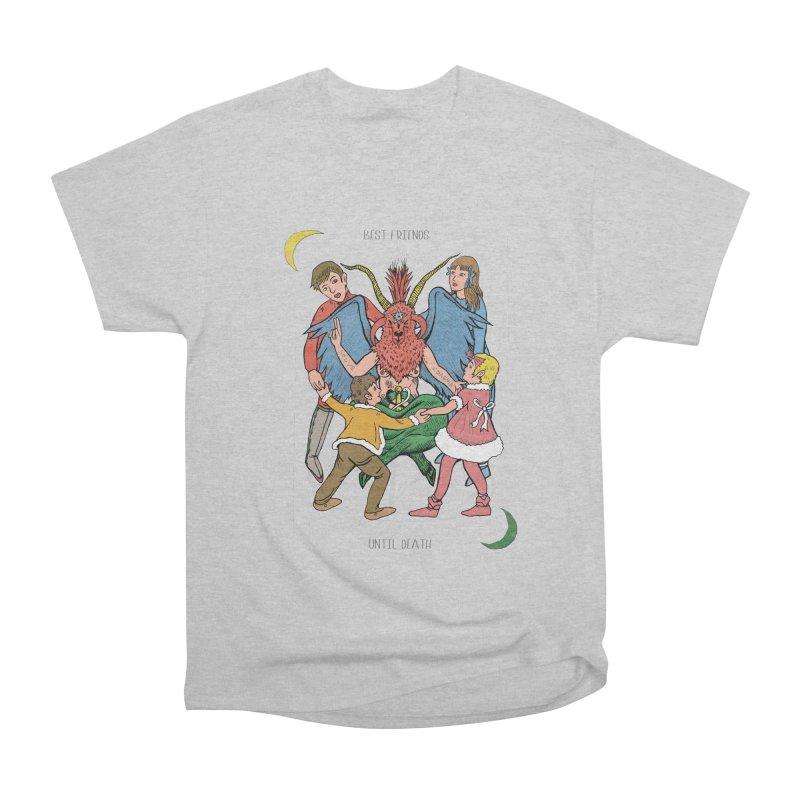 Best Friends Until Death Women's Heavyweight Unisex T-Shirt by miskel's Shop