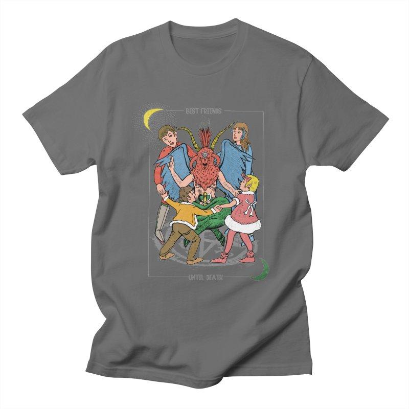 Best Friends Until Death Men's T-Shirt by miskel's Shop