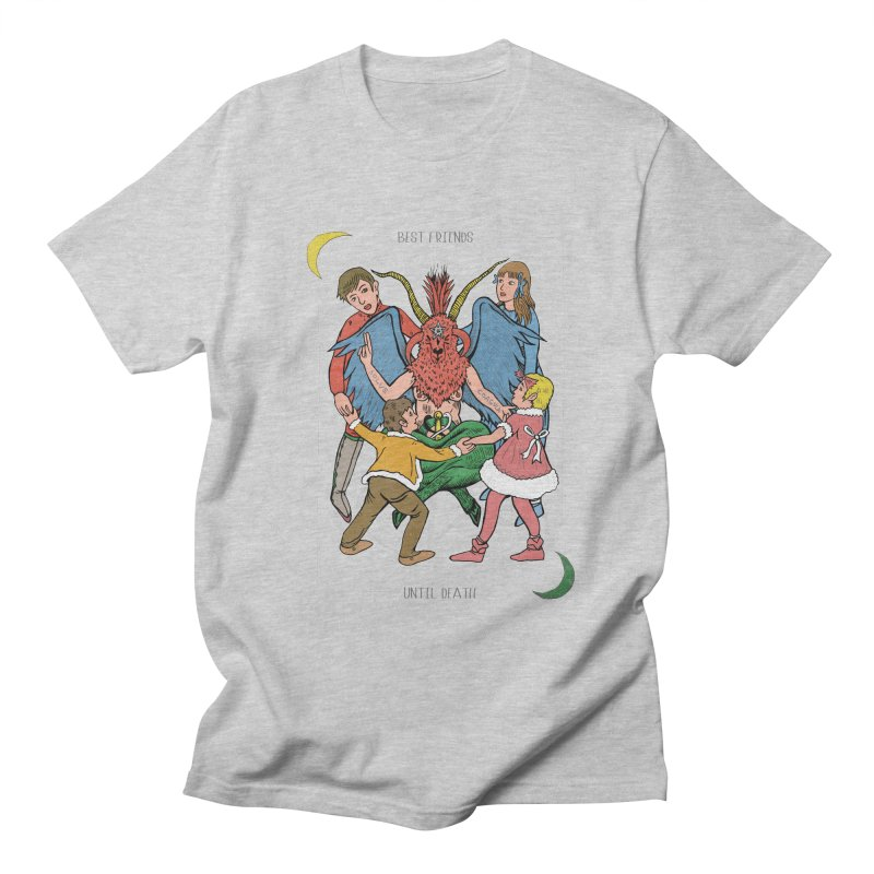 Best Friends Until Death Women's Regular Unisex T-Shirt by miskel's Shop