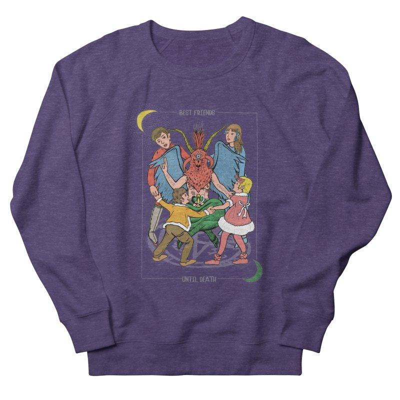 Best Friends Until Death Men's French Terry Sweatshirt by miskel's Shop